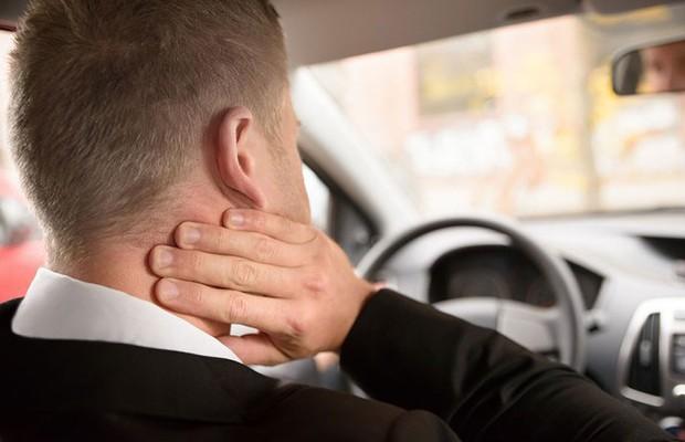 Evite dores nas costas no trânsito