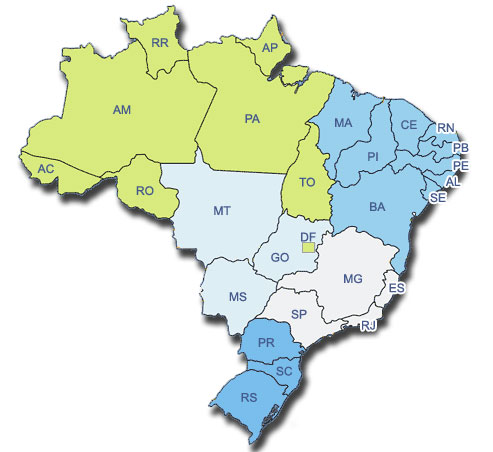 Detran SP , Detran RJ, Detran MG, e outros Detrans do Brasil
