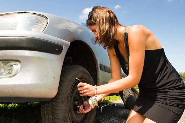 Manutenção de veículos para mulheres